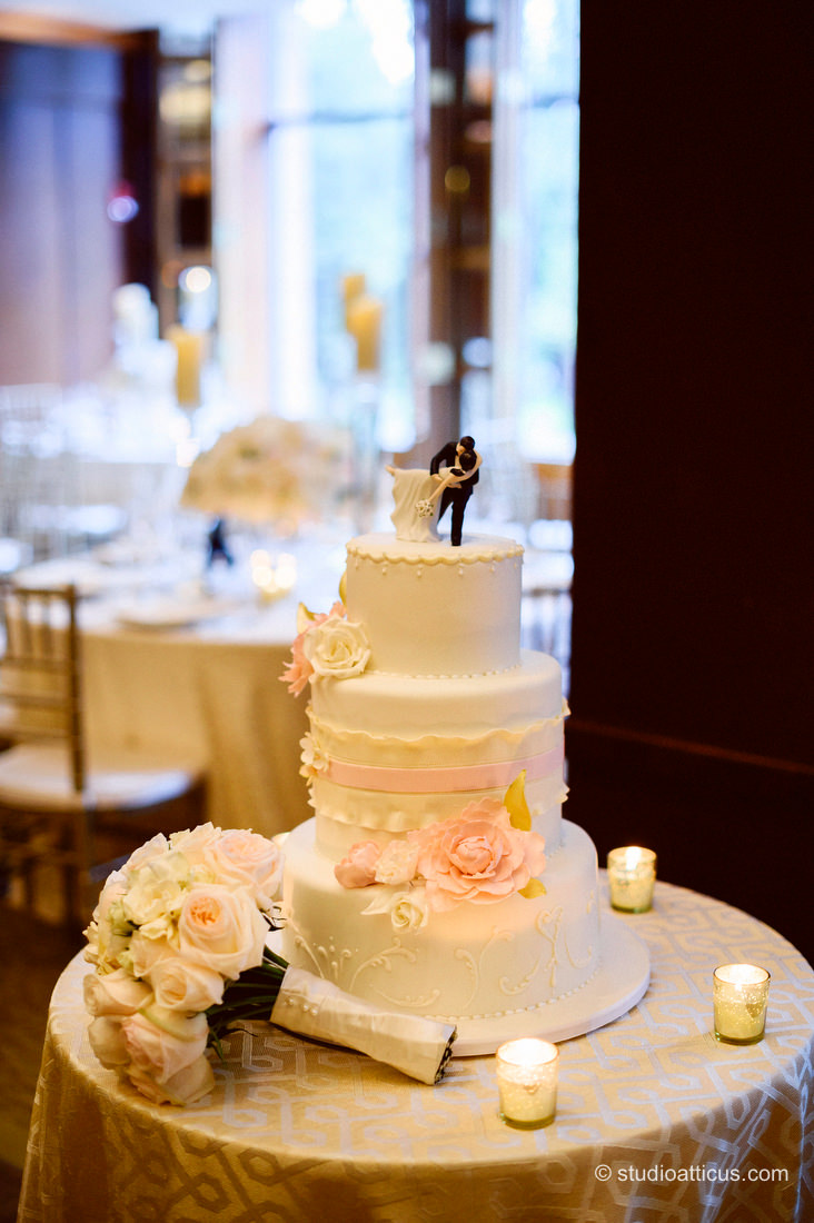 Cake Four Seasons Boston Wedding With Dan & Jan – Boston Wedding String Quartet