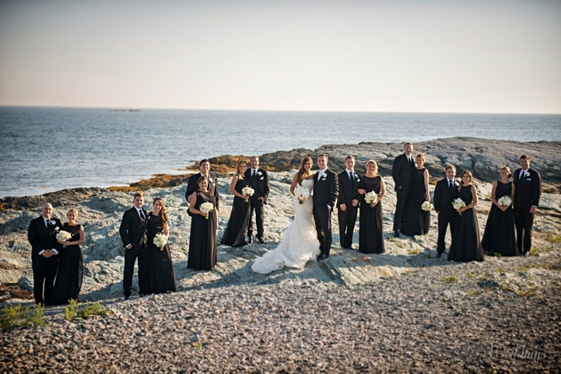 Belle Mer Summer Wedding With Ilia & Leo - Massachusetts wedding String Quartets