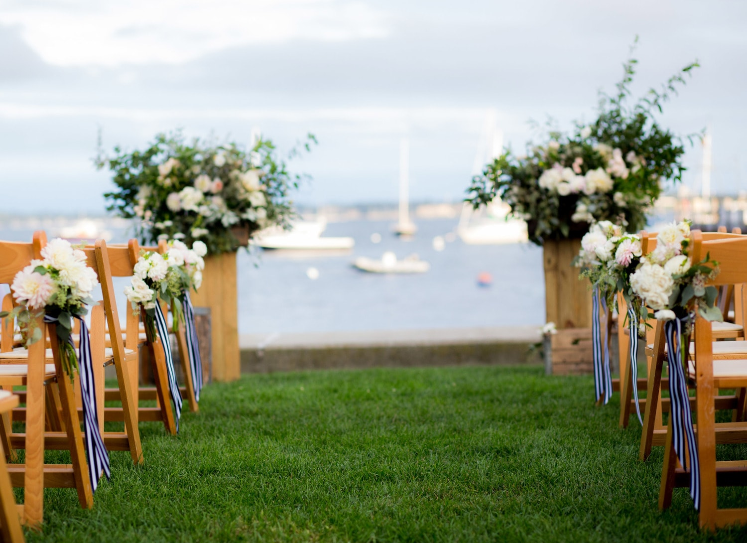 Conanicut Yacht Club R.I. Wedding With Julia & Brian - Wedding String Quartet Massachusetts