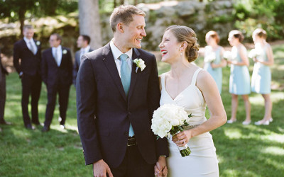 MIT Endicott House Summer Wedding With Elizabeth & George