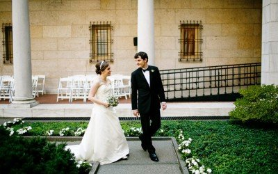 Boston Public Library Summer Wedding With Caryn & Patrick